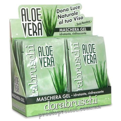 Dorabruschi aloe vera maschera gel - Гелевая маска для лица Aloe Vera