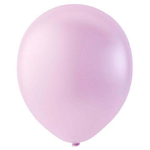 Шар Розовый Металлик, 30 см