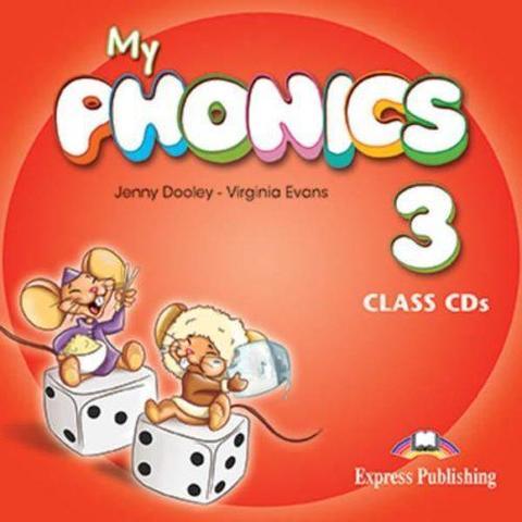 My phonics 3. Class CD (set of 2). Аудио CD для работы в классе (2 шт)