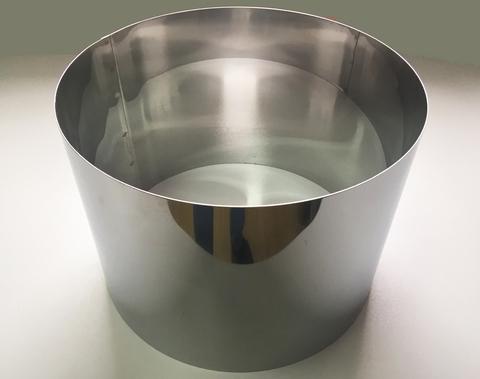 Кольцо-резак для торта H20 D30, нерж. сталь 1 мм.