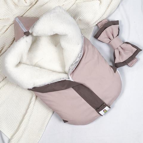 СуперМамкет. Конверт-одеяло всесезонное Мультикокон ®, Soft, пудровый