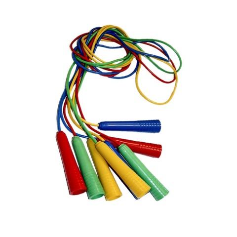 Скакалка детская цветная размер 2,5 м, 1кор*20бл*5шт