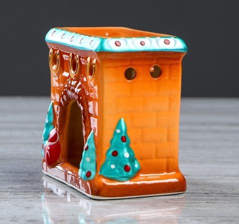 "Аромалампа ""Камин"" | 10 см"