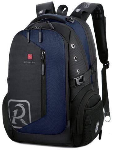Рюкзак ROTEKORS 9387-17 USB Синий