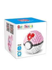 Конструктор Wisehawk & LNO покемон бол Мью 401 деталь NO. 2536 Mew Pokemon ball Gift Series