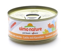Консервы (банка) Almo Nature Legend Adult Cat Salmon&Carrot