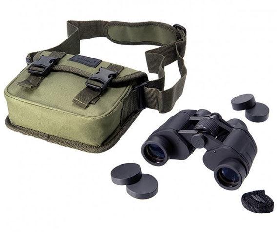 Бинокль БПШЦ 7x35, сумка и крышки