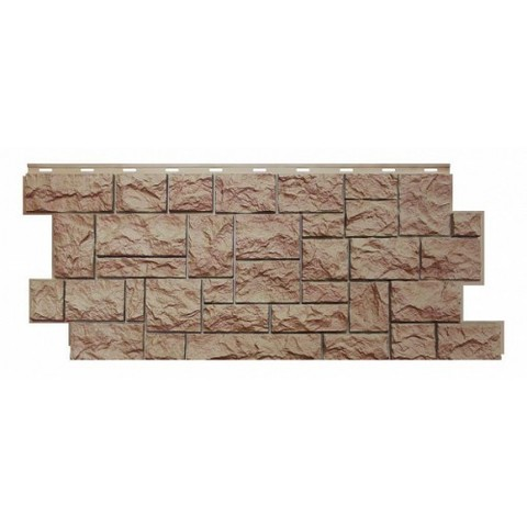 Фасадные панели (Цокольный Сайдинг) Nordside (Нордсайд) Северный Камень Терракот