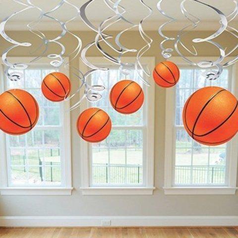 1501-2614 Спираль Баскетбол, 46-60 см, 12 штук