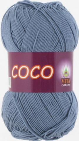 Пряжа Coco Vita cotton 4331 Потертая джинса, фото