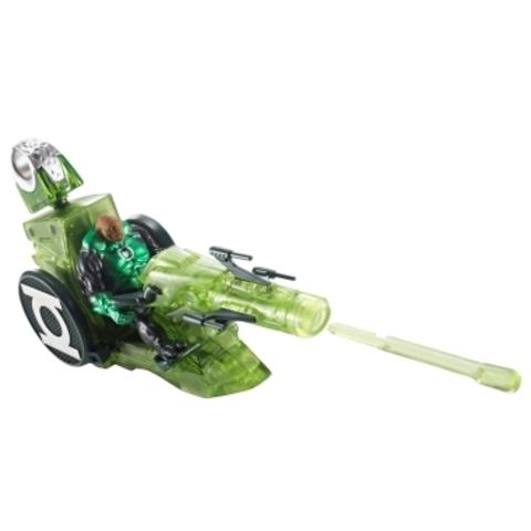 Green Lantern Figure & Kilowogs Transforming Moto-Jet