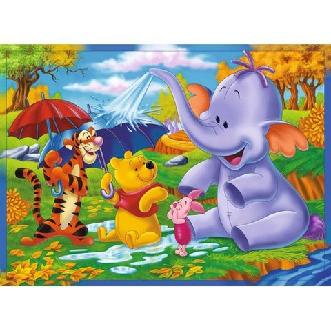 Веселый слон 268x196 см