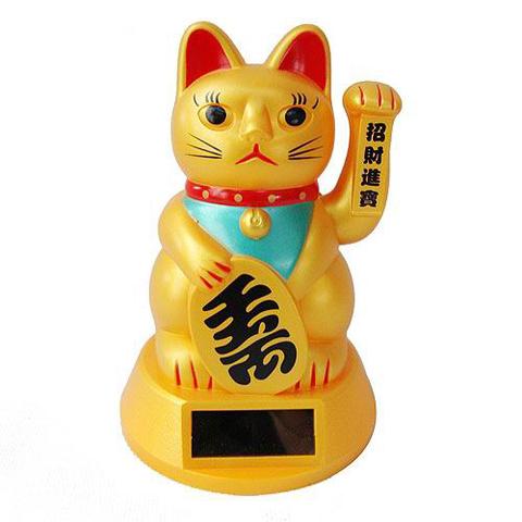 Кошка Манеки Неко 12 см