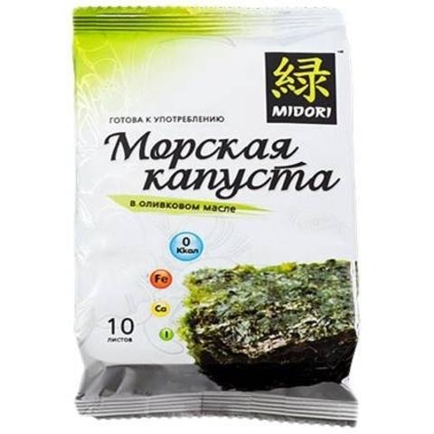 Морская Капуста Мидори вкус Кимчи Жареная 5г