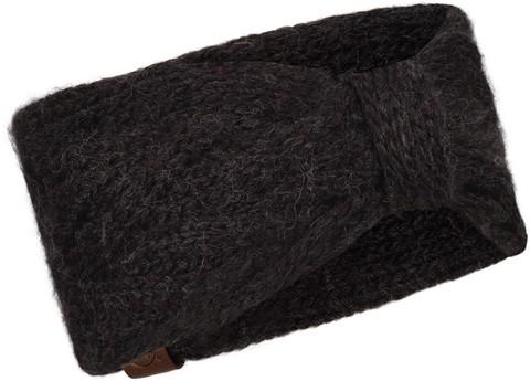 Вязаная повязка на голову Buff Headband Knitted Caryn Graphite фото 1