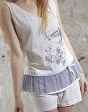Легкая пижама с шортами Rebecca & Bros