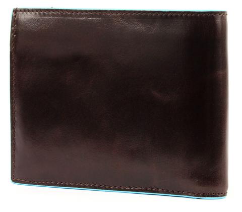 Портмоне Piquadro Blue Square, коричневое, 12,5х9,5х2,5 см