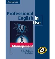 Professional English in Use Management Book wit...