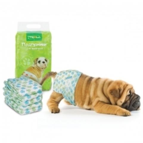 Подгузник для собак 4-7 кг размер S 20 шт.