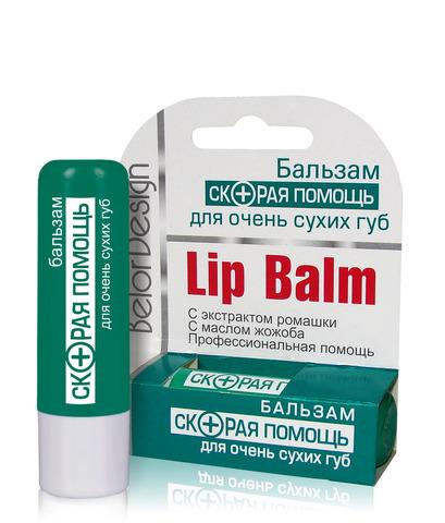 Бальзам Скорая помощь для очень сухих губ