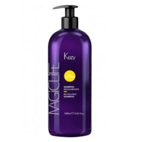 Шампунь Био-Баланс для жирной кожи головы Kezy Magic Life Bio-Balance Shampoo 1000 мл