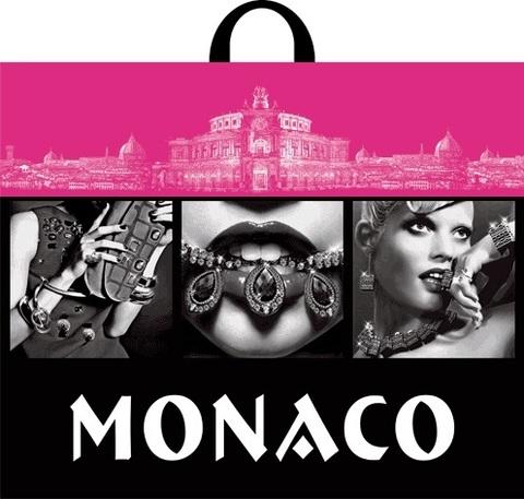 Пакет ПЭ с петлевой ручкой 60х50+6 (70) Монако