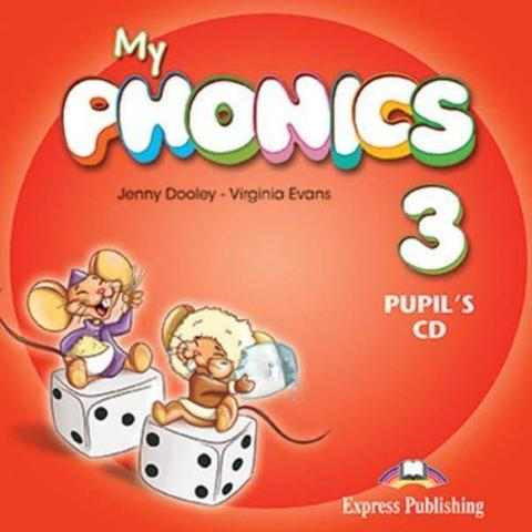 My phonics 3. Pupil's CD. Аудио CD для занятий дома