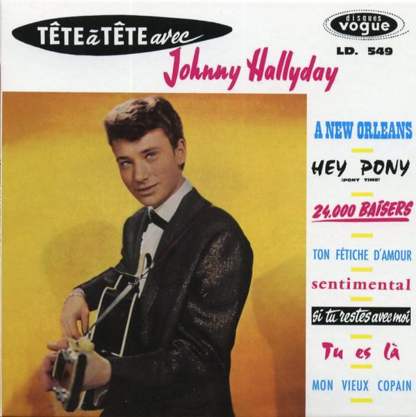 HALLYDAY, JOHNNY: Tête À Tête Avec Johnny Hallyday