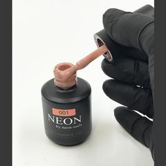 NEON, гель-лак Caramel GLITTER № 001 , (12 ml) бежевый с шиммером