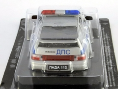 VAZ-2112 Lada DPS Traffic Patrol Police 1:43 DeAgostini Service Vehicle #10