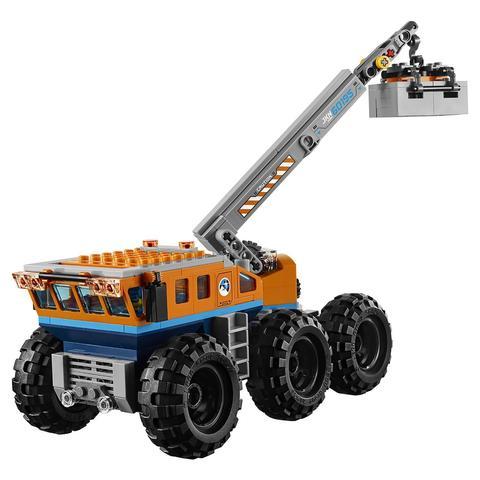 LEGO City: Арктическая экспедиция: Передвижная арктическая база 60195 — Arctic Mobile Exploration Base — Лего Сити Город