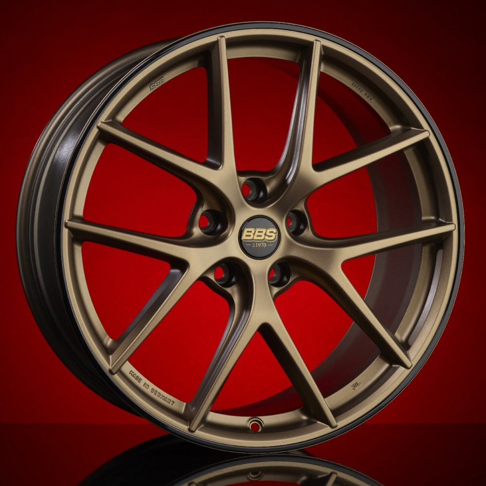 Диск колесный BBS CI-R 8x19 5x112 ET44 CB82.0 satin bronze