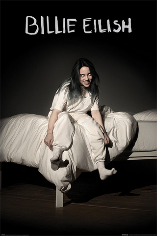 Постер Maxi Pyramid: Billie Eilish (When We All Fall Asleep Where Do We Go)