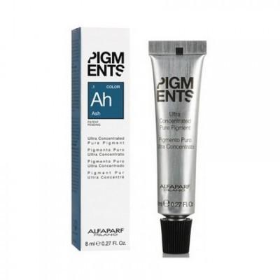 Alfaparf Milano Pigments: Ультра концентрированный пигмент пепельный  (Pigments  Ash .1), 90мл