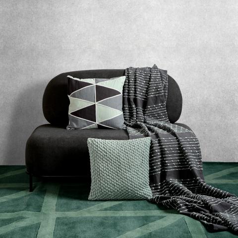 Подушка декоративная Triangles play из коллекции Ethnic, 45х45 см