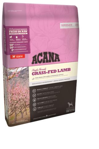 Acana Grass-Fed Lamb с ягненком и яблоком для собак и щенков всех пород