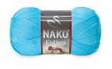 Пряжа Nako Estiva 6954 голубая бирюза