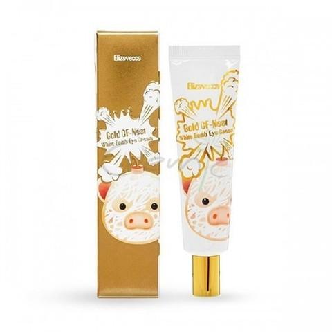 Elizavecca Gold CF Nest White Bomb Eye Cream крем для век с экстрактом ласточкиного гнезда и золотом
