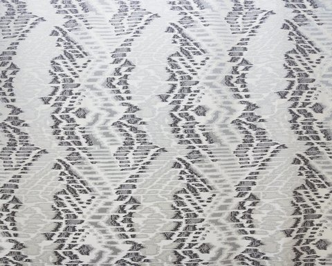 Портьерная ткань в современном стиле Кальман серый