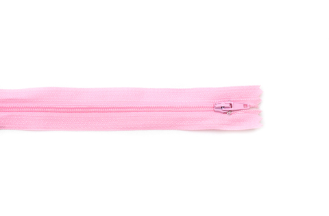 Молния потайная,50см, св.розовый