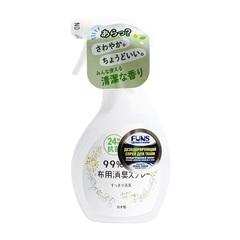 Спрей для ткани Daiichi Funs дезодорирующий с антибактериальным эффектом Зеленый аромат 380 мл