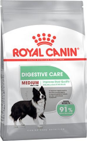 Royal Canin Medium Digestive Care сухой корм для собак средних пород с чувствительной пищеварительной системой