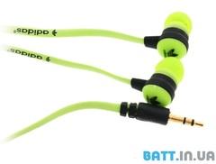 Наушники вакуумные Adidas ADS-02 green