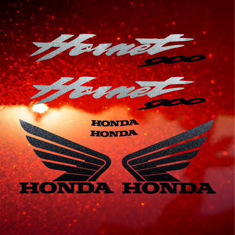 Набор виниловых наклеек на мотоцикл HONDA CB900F HORNET 2006