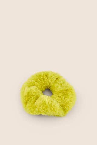 Плюшева резинка для волосся