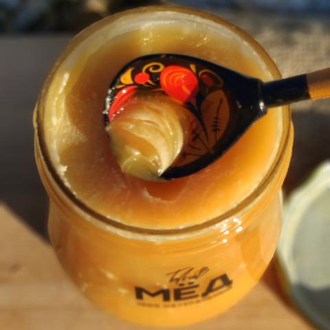 Мёд цветочный конец лета 2020 Казнаковка 660 г