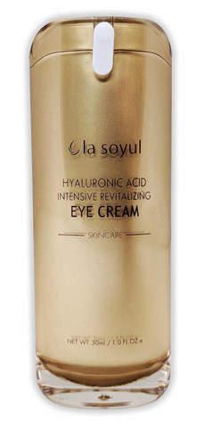 LA SOYUL Hyaluronic Acid Intensive Revitalizing Eye Cream / Крем для кожи вокруг глаз с гиалуроновой кислотой для интенсивного восстановления, 30 мл