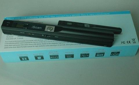 ESPADA iScan A4 Беспроводной ручной сканер iScan S001 LCD 900dpi портативный