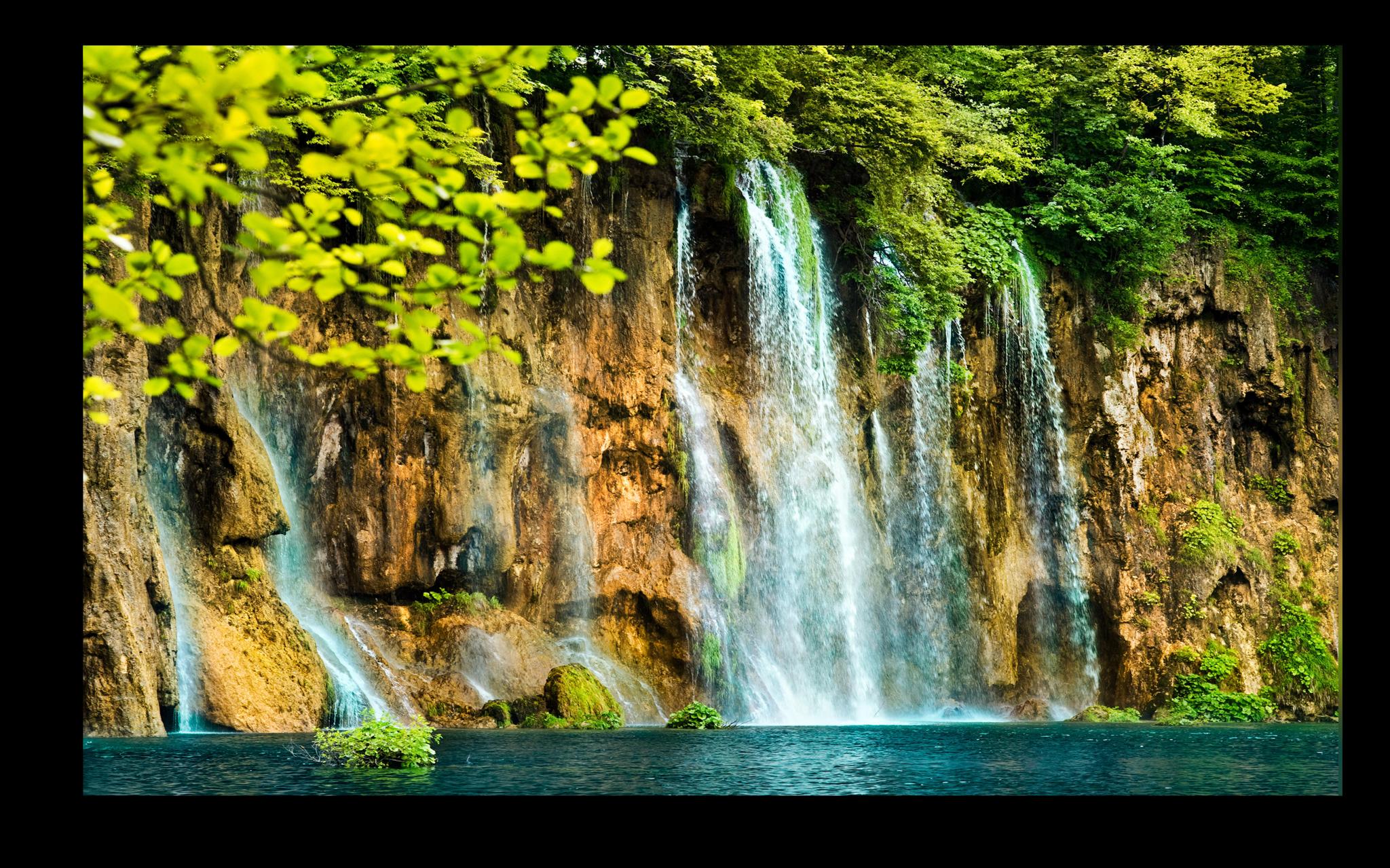 """Постеры Постер """"Горный водопад"""" п93.png"""
