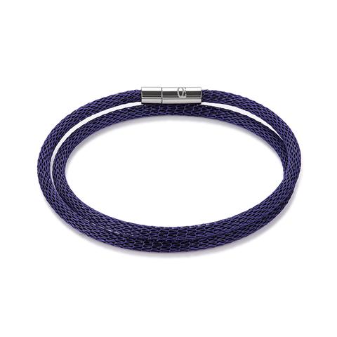 Браслет Coeur de Lion 0111/35-0800 цвет тёмно-синий